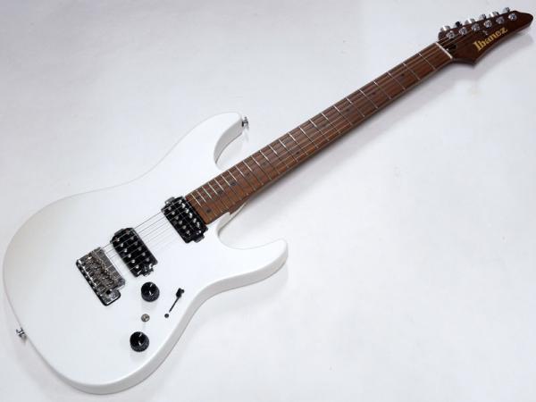 Ibanez ( アイバニーズ ) AZ2402 Pearl White Flat 【日本製 ギター 限定カラー WO 】