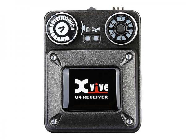 Xvive ( エックスバイブ ) XV-U4R ◆ U4 インイヤーモニター デジタルワイヤレス・システム / レシーバー単体