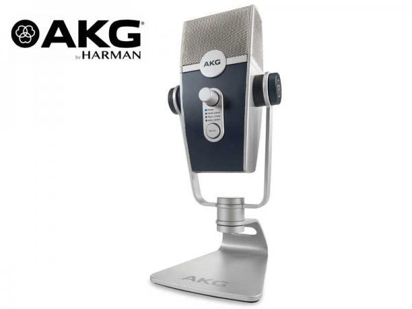 AKG ( エーケージー ) Lyra-Y3 ◆ USBマイクロホン コンデンサーマイク  サイドアドレス型 【メーカー3年保証】
