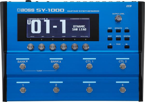 BOSS ( ボス ) SY-1000 Guitar Synthesizer【ギターシンセサイザー WO 】