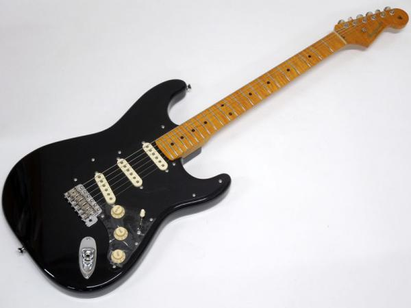 Vanzandt ( ヴァンザント ) STV-R2 Flame Neck LTD STD / Black / Maple FingerBoard #8534