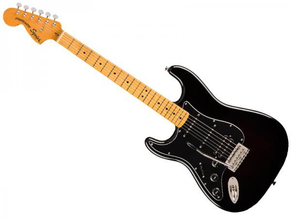 SQUIER ( スクワイヤー ) Classic Vibe 70s Stratocaster HSS Left-Hand Black / M【左用 ストラトキャスター by フェンダー】