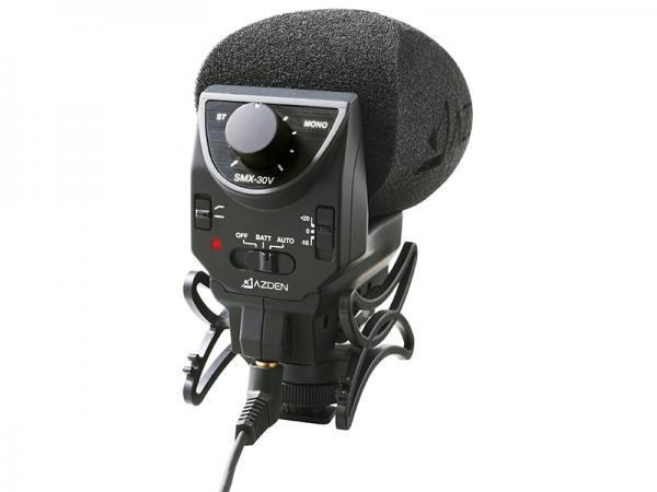 AZDEN ( アツデン ) SMX-30V  ◆ コンデンサーマイク
