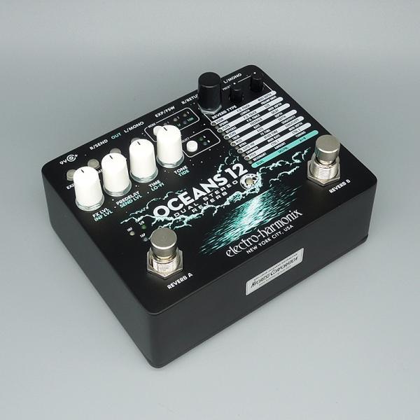 Electro Harmonix ( エレクトロハーモニクス ) Oceans 12 Dual Stereo Reverb【デュアル・リバーブ  】