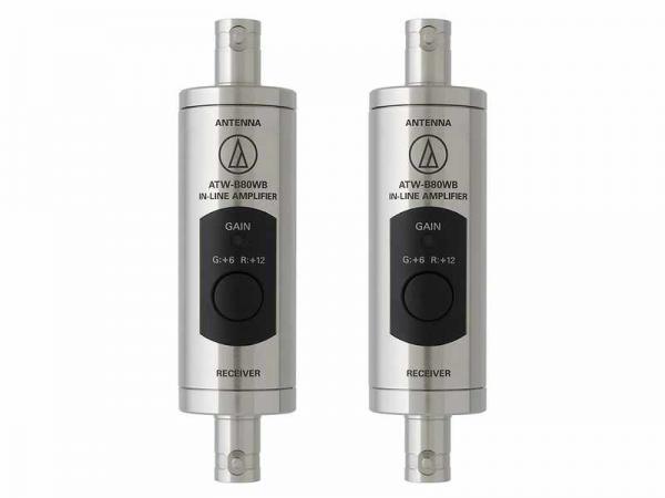 audio-technica ( オーディオテクニカ ) ATW-B80WB ◆ 広帯域アンテナブースター(2本1組)