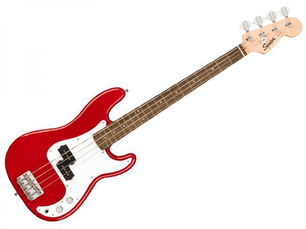 SQUIER ( スクワイヤー ) Mini P Bass DKR【 ミニ ベース  by フェンダー】