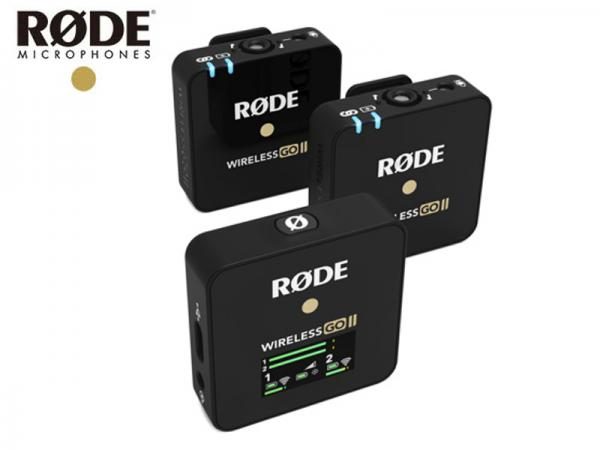 RODE ( ロード ) Wireless GO II  ワイヤレス ゴー 2 ◆ 【国内正規品】デュアルチャンネルモデル ワイヤレス送受信機マイクシステム