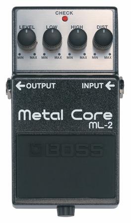BOSS ( ボス ) ML-2 Metal Core【メタルコア ディストーション 】