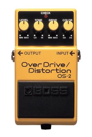 BOSS ( ボス ) OS-2 OverDrive/Distortion【オーバードライブ・ディストーション  】