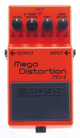 BOSS ( ボス ) MD-2 Mega DIstortion【メガ・ディストーション WO】