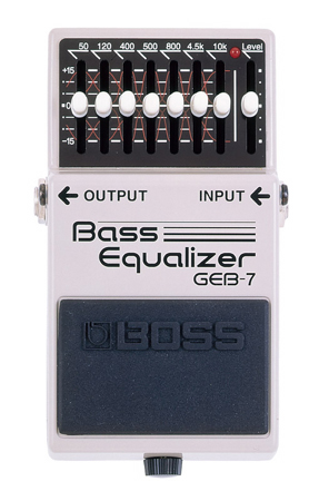 BOSS ( ボス ) GEB-7 Bass Equalizer