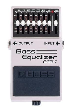 BOSS ( ボス ) GEB-7 Bass Equalizer【ベース専用 イコライザー WO】