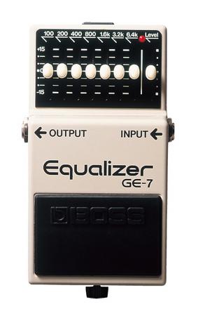 BOSS ( ボス ) GE-7 Equalizer【イコライザー WO 】