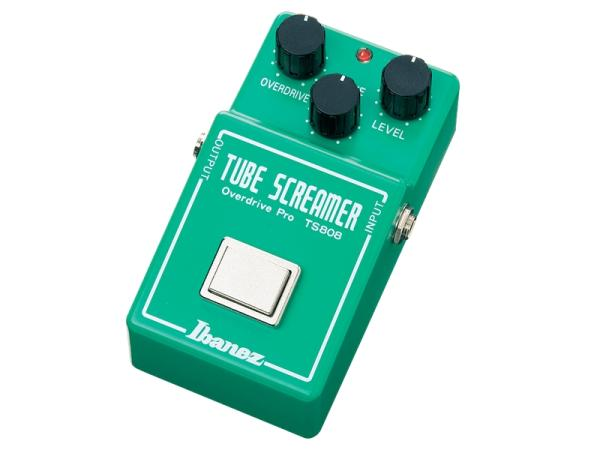 Ibanez ( アイバニーズ ) TS-808 Tube Screamer 【チューブ スクリーマー リイシューモデル】