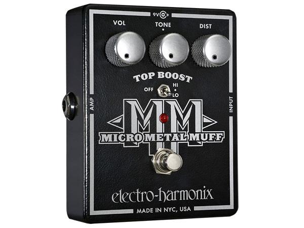 Electro Harmonix ( エレクトロハーモニクス ) Micro Metal Muff