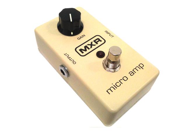 MXR ( エムエックスアール ) M133 ( MICRO AMP ) 【 ブースター  プリアンプ  KH】