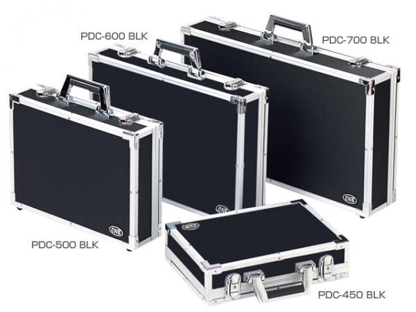 CNB ( シーエヌビー ) PDC-450B 強化レザー エフェクターケース 蓋が取れる セパレートタイプ エフェクターボード ハードケース Sサイズ カラー ブラック PDC-450 BLK
