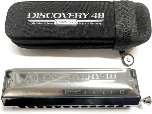 HOHNER ( ホーナー ) Discovery 48 クロマチックハーモニカ ディスカバリー48 C調 12穴 スライド式 ハーモニカ 7542/48 3オクターブ 初心者 樹脂製 北海道 沖縄 離島不可