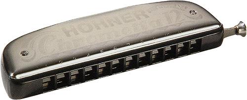 HOHNER ( ホーナー ) クロメッタ12 初心者 クロマチックハーモニカ スライド式  12穴 3オクターブ C調 255/48 樹脂ボディ Chrometta-12 楽器 ハーモニカ