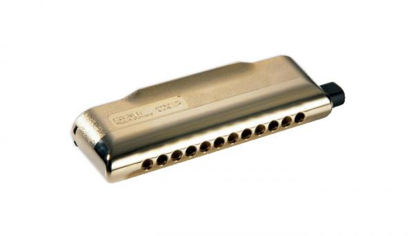 HOHNER ( ホーナー ) CX-12 Gold クロマチックハーモニカ 7545/48G ゴールド 12穴 3オクターブ 樹脂ボディ ハーモニカ C調 スライド式 リード 楽器 CX12 金色