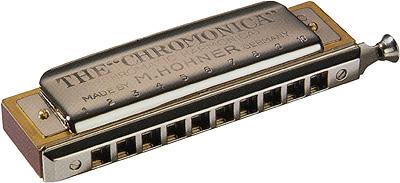 HOHNER ( ホーナー ) Chromonica 260 クロマチックハーモニカ 260/40 10穴 2オクターブ半 木製ボディ ハーモニカ C調 スライド式 リード 楽器 chromatic harmonica