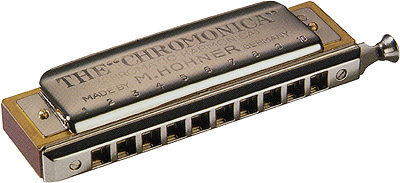 HOHNER ( ホーナー ) クロモニカ260 10穴 2オクターブ半 スライド式 クロマチックハーモニカ 260/40 木製ボディ 楽器 ハーモニカ Chromonica-260 C調