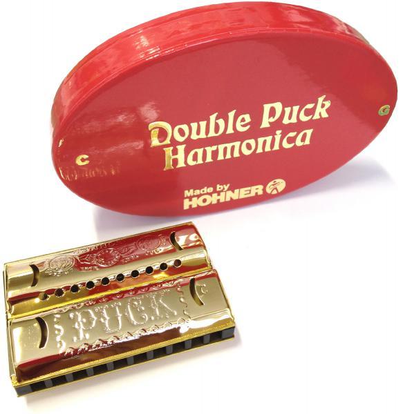 HOHNER ( ホーナー ) ダブルパック 553/40/CG ミニハーモニカ ゴールド C調 & G調 が1本に ブルースハープ ヒストリックコレクション 10穴 ハーモニカ 楽器