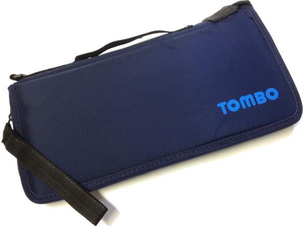 TOMBO ( トンボ ) HC-1008 ハーモニカケース 10穴 ブルースハーモニカ用 8本収納 10ホールズ ソフトケース Blues Harmonica cases ブルースハープ型
