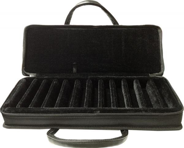 TOMBO ( トンボ ) HC-1012 ブルースハーモニカ用 ケース 10穴 ハーモニカ 12本収納 ブルースハープ型 12本ケース HC1012 10holes Harmonica case