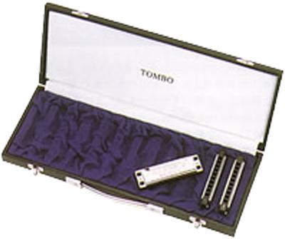 TOMBO ( トンボ ) ブルースハーモニカ用 ハーモニカケース 10HC-12 12本入 ハードケース 10穴 テンホールズハーモニカ用