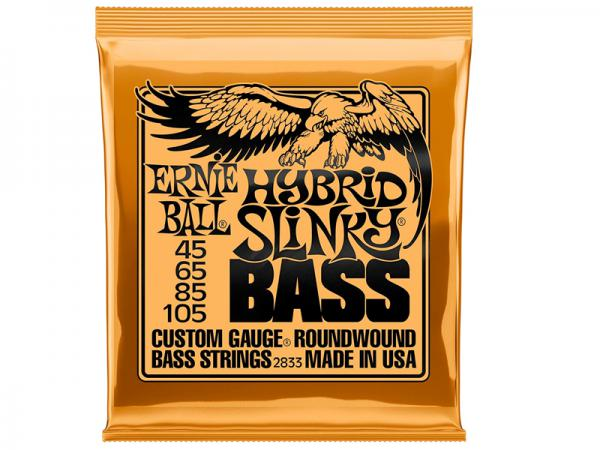 ERNIE BALL ( アーニーボール ) 2833 ベース弦 ロングスケール  オレンジ 45-105