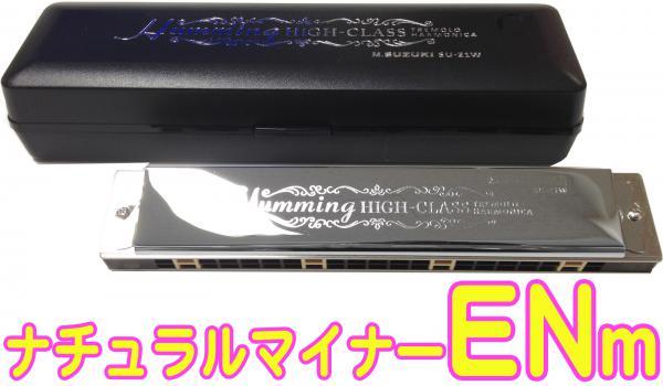 SUZUKI ( スズキ ) SU-21W ENm E ナチュラルマイナー 複音ハーモニカ 21穴 高級ハミング 日本製 ダブルリード トレモロ ハーモニカ 楽器 Harmonica
