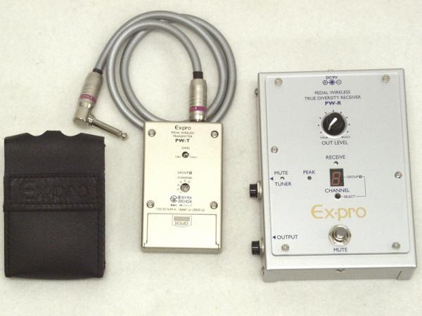 EX-PRO ( イーエックスプロ ) PW-R/PW-E フット型ワイヤレスセット