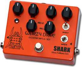 SHARK EFFECT ( シャーク エフェクト ) WARZY DRIVE / Extreme Metal Box 【ハイゲイン・サウンド!】
