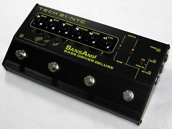 Tech21 ( テック21 ) SansAmp Bass Driver Deluxe