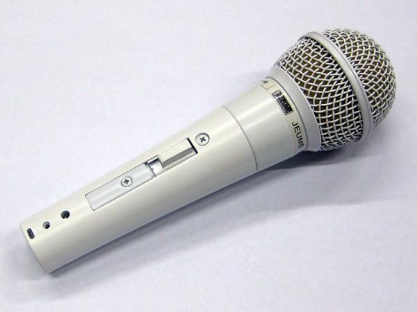 JEUME ( ジューム ) DL-320 White Edition 【Dynamic Vocal Microphone】
