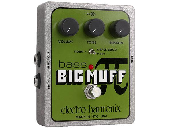 Electro Harmonix ( エレクトロハーモニクス ) Bass Big Muff Pi【ベースビッグマフ ディストーション WO 】
