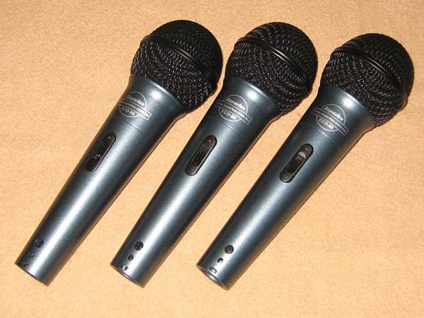 Superlux ( スーパーラックス ) ECO-88S / 3-Pack Microphone set