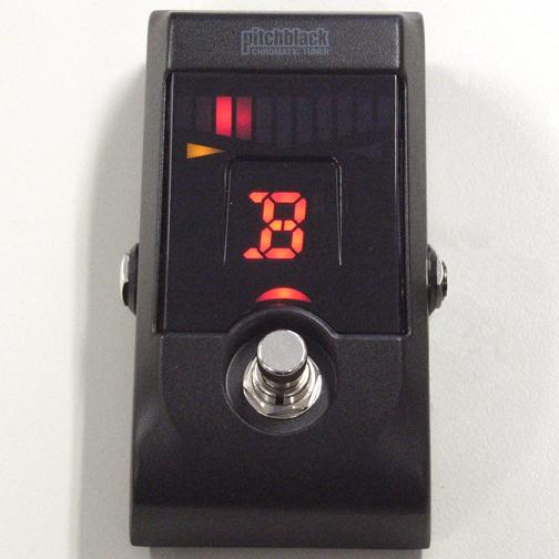 KORG ( コルグ ) PB-01 pitchblack【トゥルーバイパス・クロマチックチューナー】