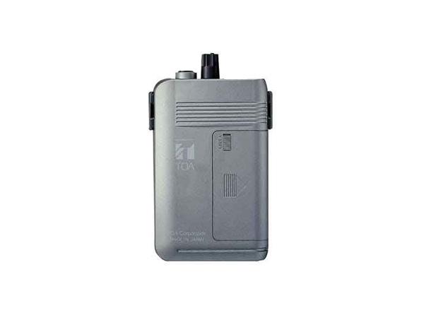 TOA ( ティーオーエー ) WT-1101-C11C13 ◆ ワイヤレスガイド携帯型受信機 2チャンネル切換型