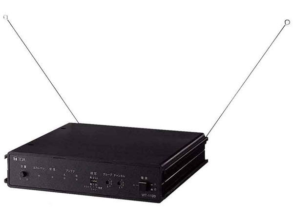 TOA ( ティーオーエー ) WT-1120 ◆ ワイヤレスガイド卓上型受信機 据置型受信機