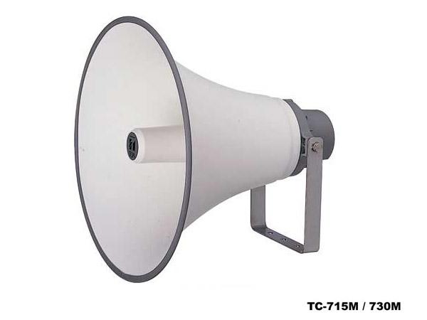 TOA ( ティーオーエー ) TC-715AM ◆ ホーンスピーカー 15W トランス付
