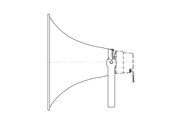 TOA ( ティーオーエー ) TH-760 ◆ レフレックスホーン