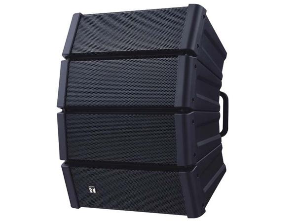 TOA ( ティーオーエー ) HX-5B-WP ◆ コンパクトアレイスピーカー 黒 屋外用