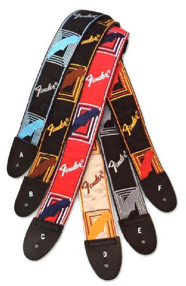 Fender USA ( フェンダーUSA ) Monogrammed Straps