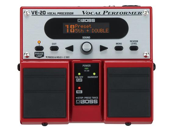 BOSS ( ボス ) VE-20 ◆ ボーカルエフェクター