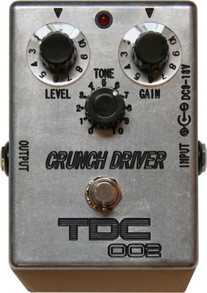 TDC CRUNCH DRIVER 【高次元の歪へのこだわり】