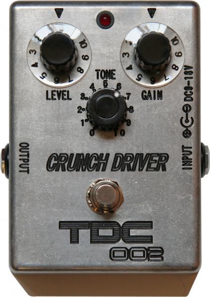 STUDIO YOU TDC-002 CRUNCH DRIVER 【高次元の歪へのこだわり】