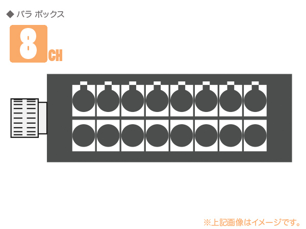 CANARE ( カナレ ) 8J12N1(F77) ◆ 8ch パラボックス ・NK27-31S-R