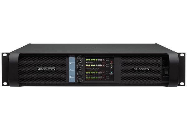 LAB GRUPPEN ( ラブグルッペン ) FP10000Q/SP ◆ パワーアンプ ・4チャンネルモデル ・C型コネクター電源ケーブル スピコン端子